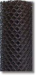 chain link wire black