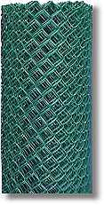 chain link wire green
