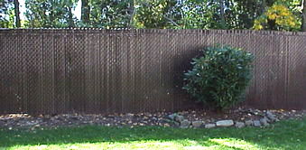 Pictures - privacy slats